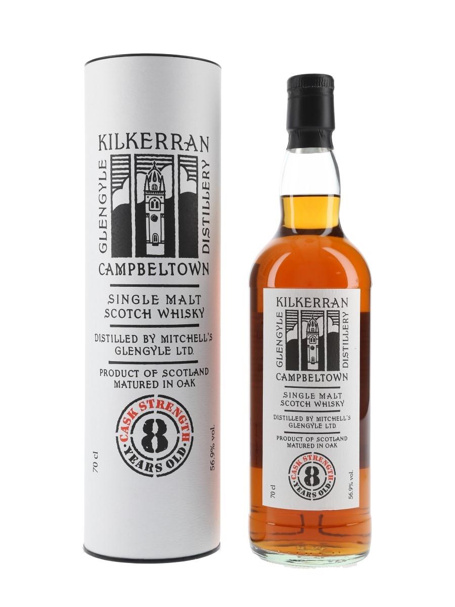 Kilkerran 8 Year Old Sherry Cask Bottled 2021 - Cask Strength 70cl / 56.9%