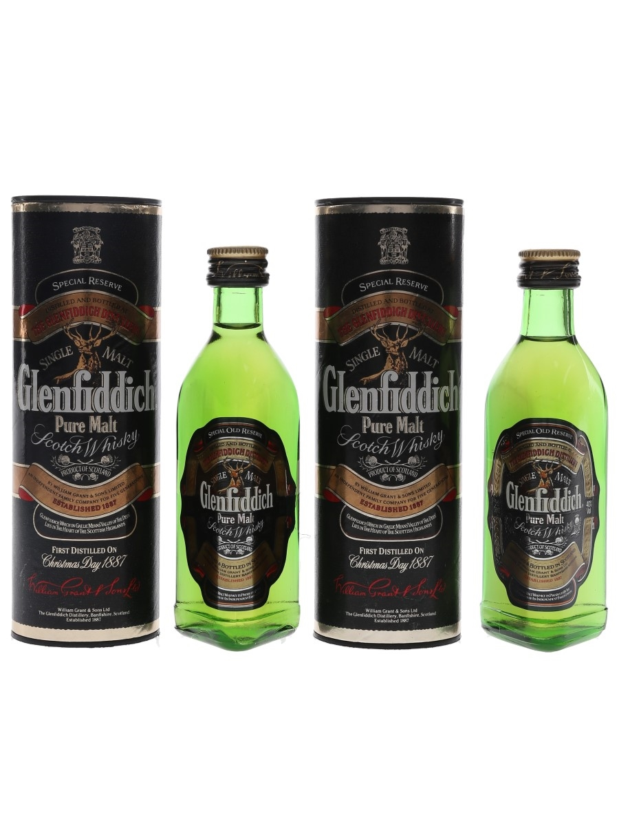Glenfiddich Special Old Reserve Pure Malt  2 x 5cl / 40%