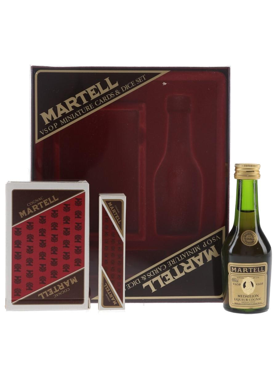 Martell Medaillon VSOP Game Box  5cl / 40%