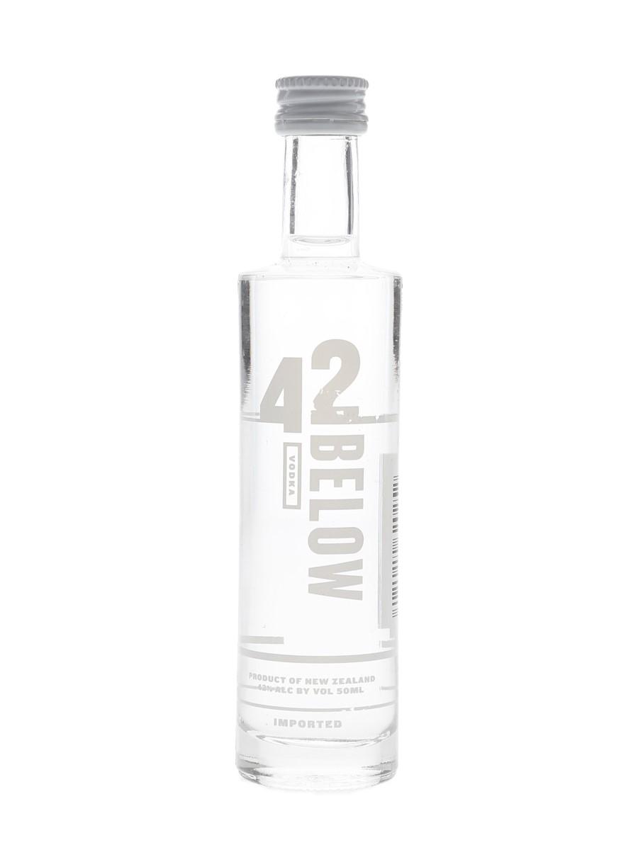 42 Below Vodka  5cl / 42%