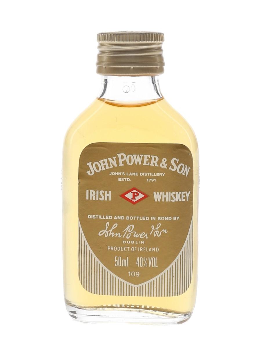 John Power & Son Bottled 1980s 5cl / 40%