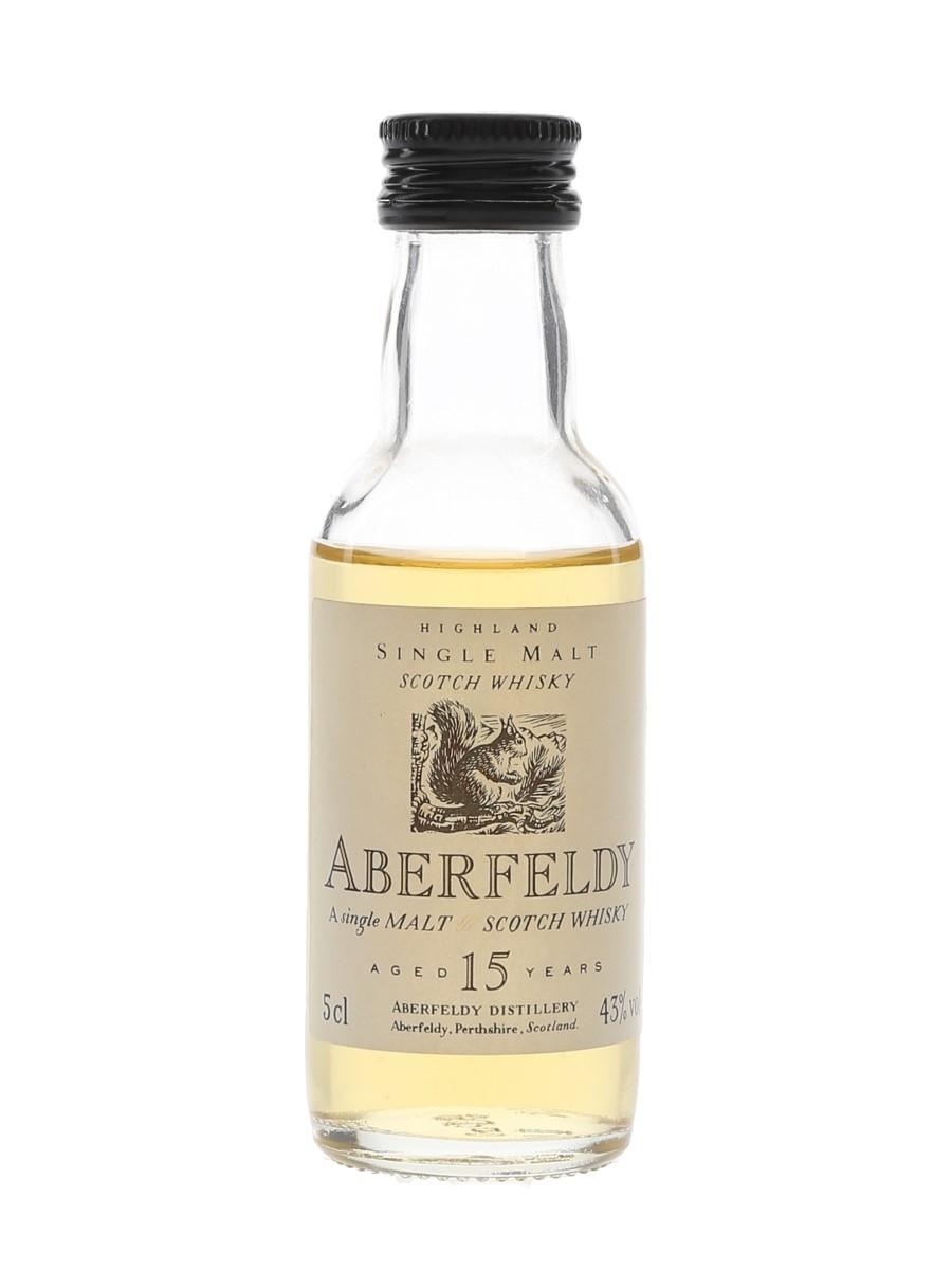Aberfeldy 15 Year Old Flora & Fauna 5cl / 43%