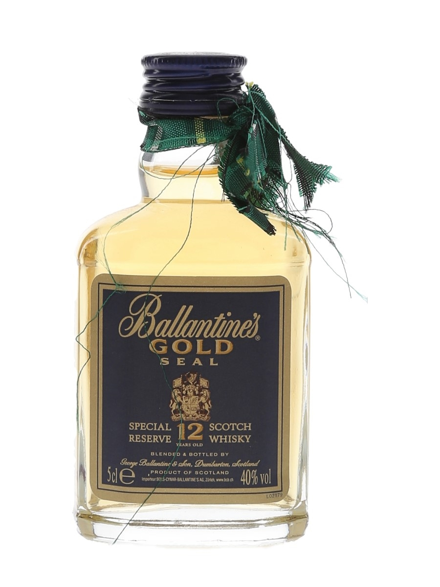 Ballantine's Gold Seal 12 Year Old  5cl / 40%