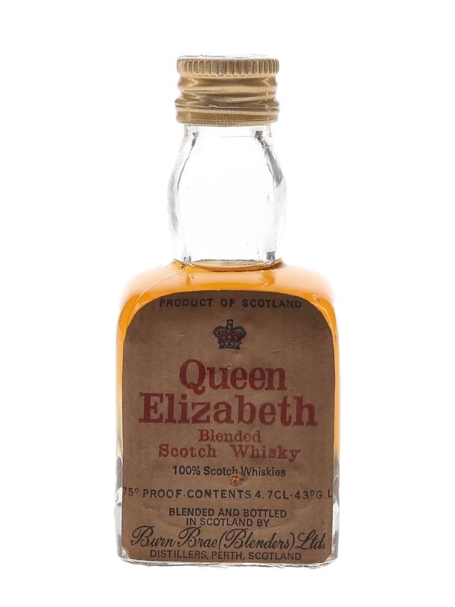 Queen Elizabeth Bottled 1960s 4.7cl / 43%