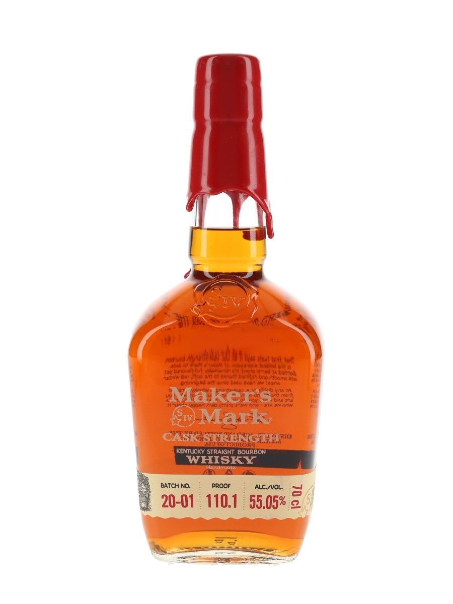 Maker's Mark Cask Strength Batch No.20-01  70cl / 55.05%