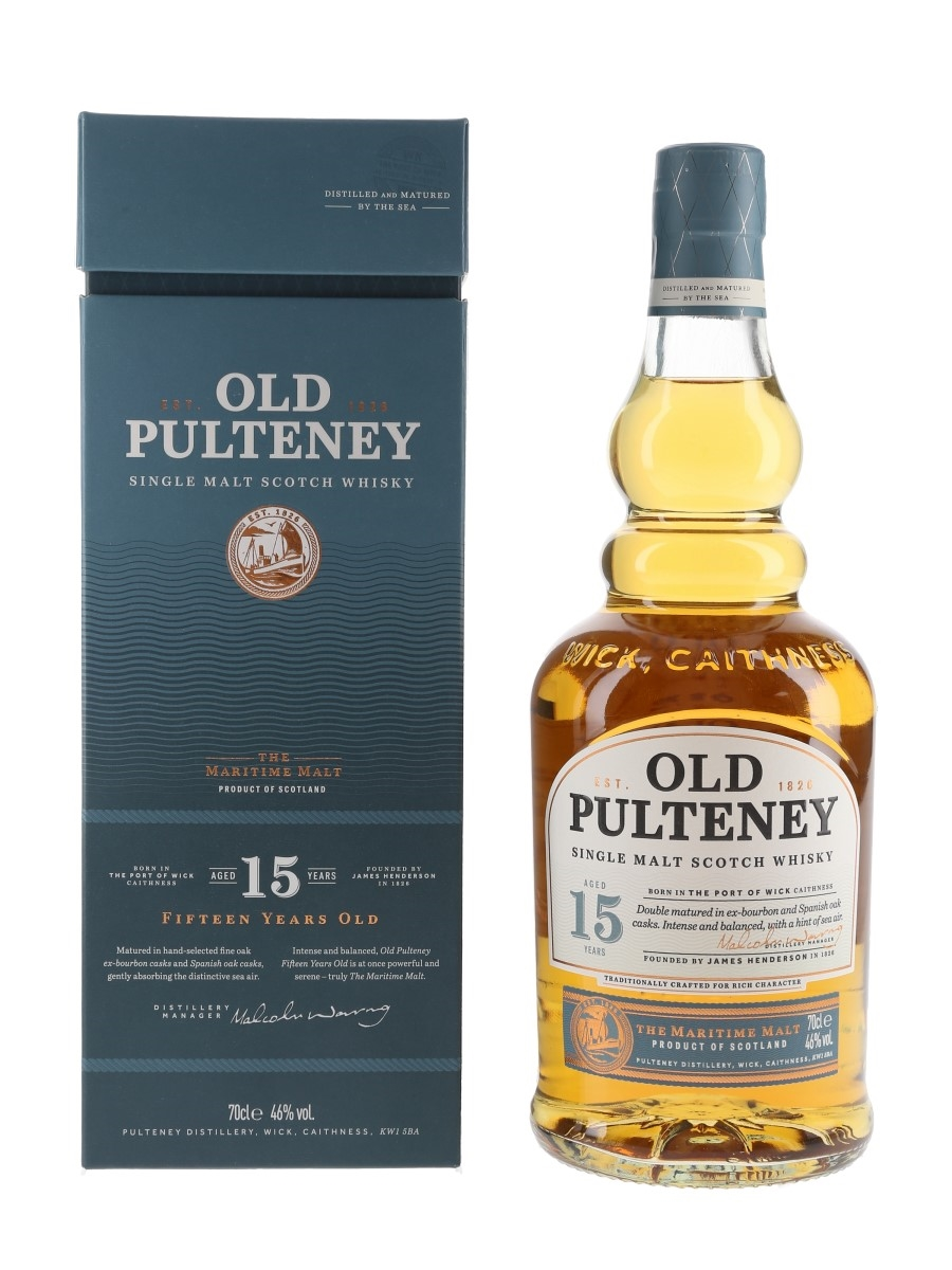 Old Pulteney 15 Year Old Bottled 2019 70cl / 46%