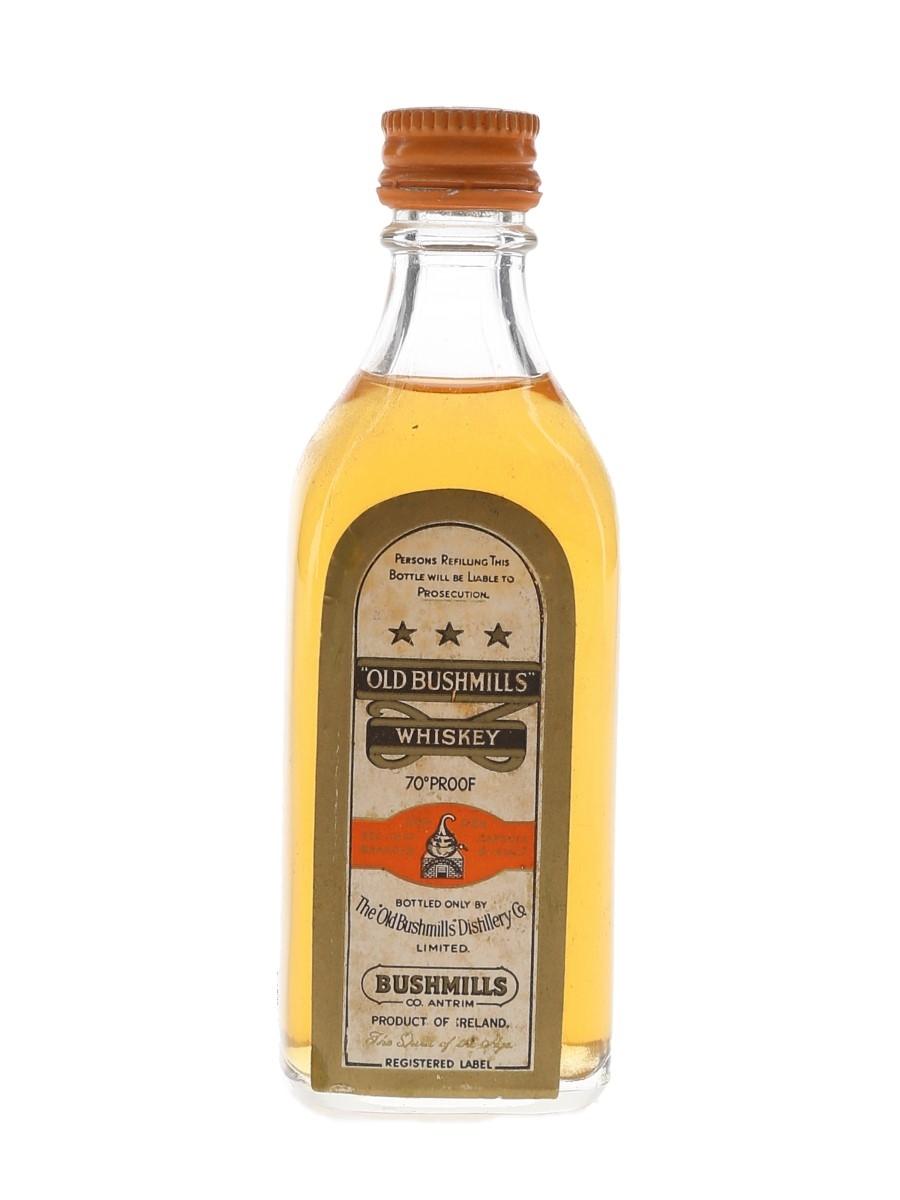 Old Bushmills 3 Star Bottled 1960s 7cl / 40%