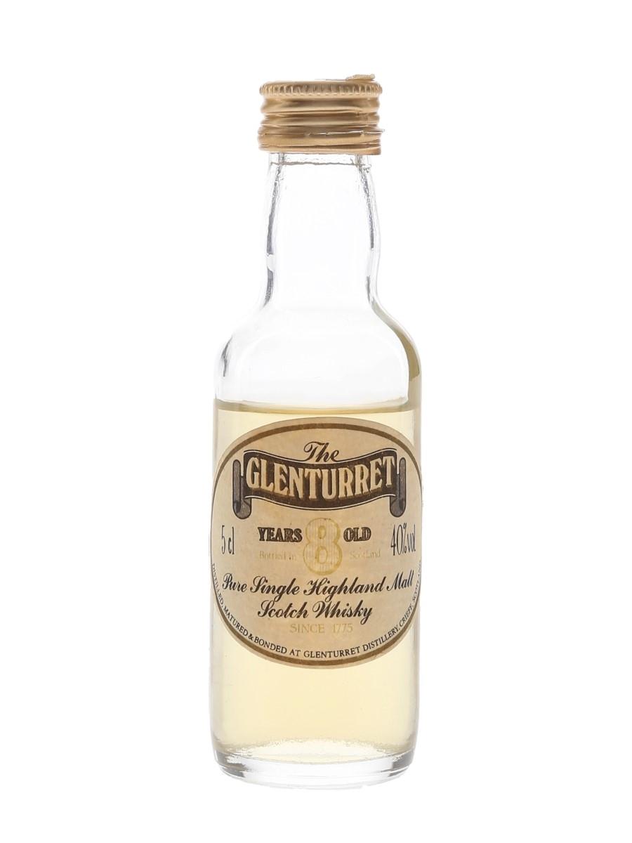 Glenturret 8 Year Old Bottled 1980s 5cl / 40%