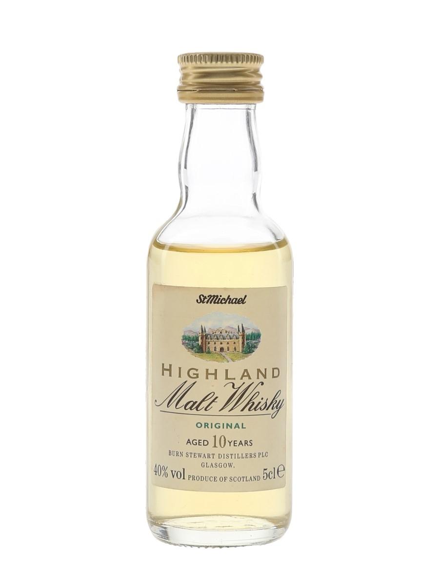St Michael 10 Year Old Highland Malt  5cl / 40%