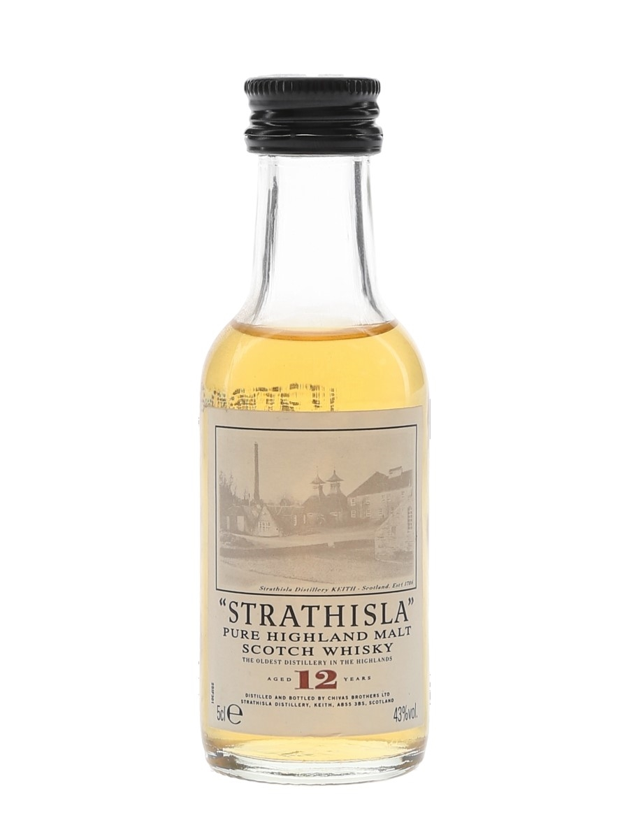 Strathisla 12 Year Old  5cl / 43%
