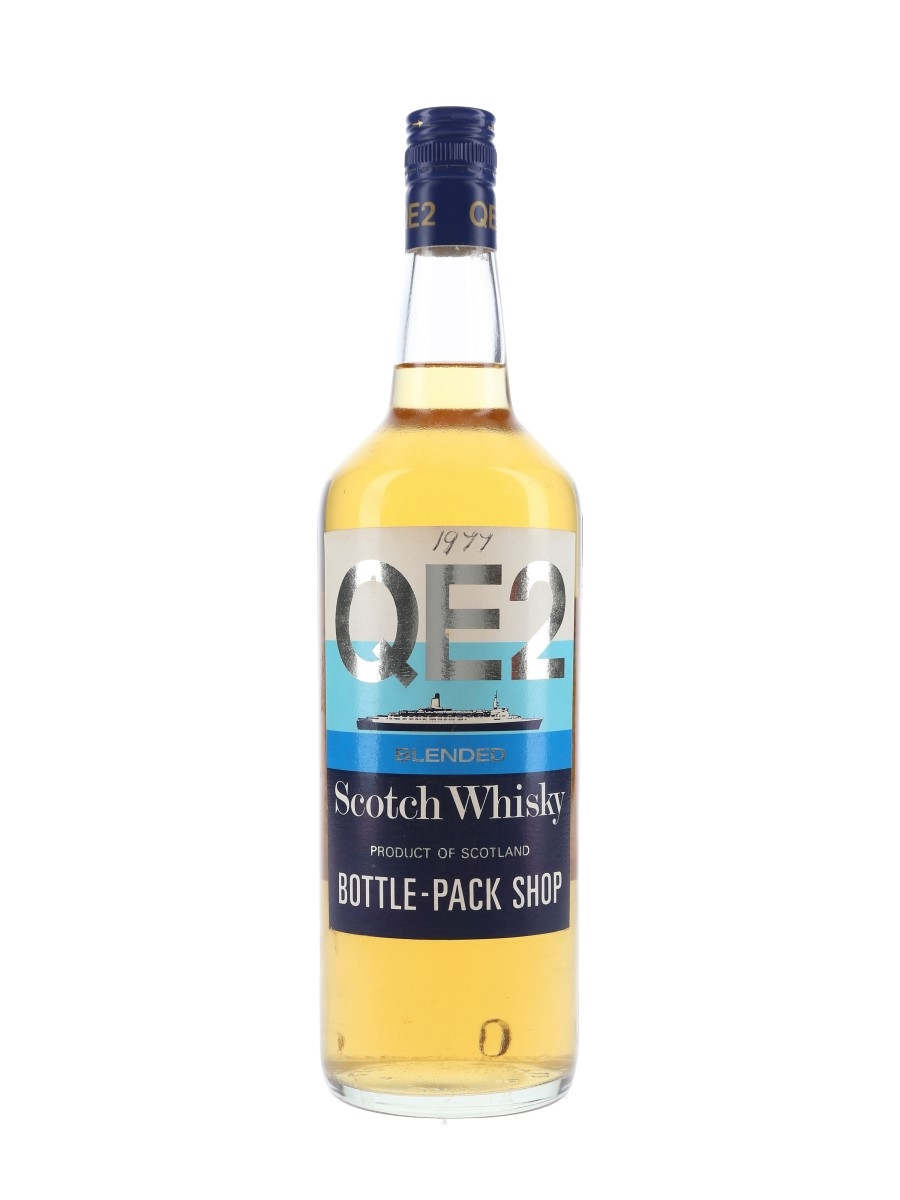 QE2 Blended Scotch Bottled 1980s 100cl