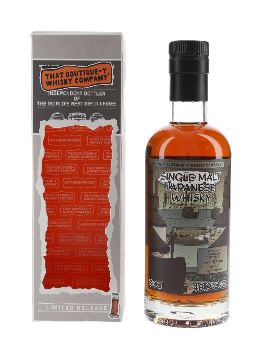 Karuizawa 19 Year Old Batch 1 That Boutique-y Whisky Company - With TBWC Stickers 50cl / 48.9%