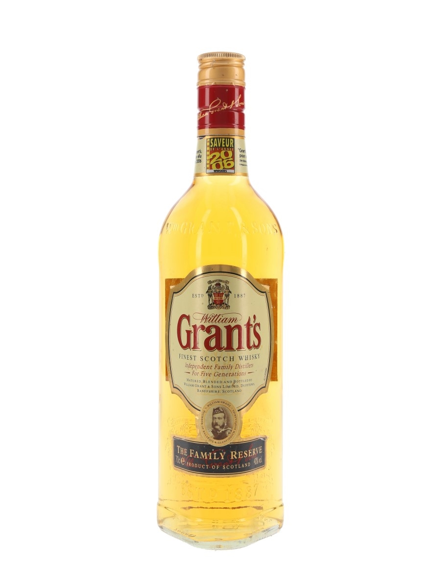 Grant's Family Reserve Old Presentation 70cl / 40%