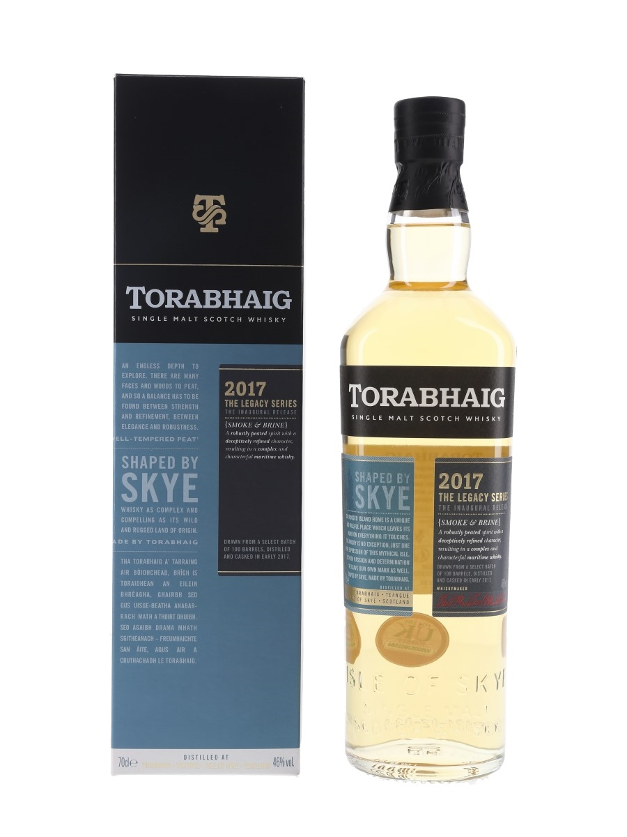Torabhaig 2017 Legacy Series Inaugural Release 70cl / 46%