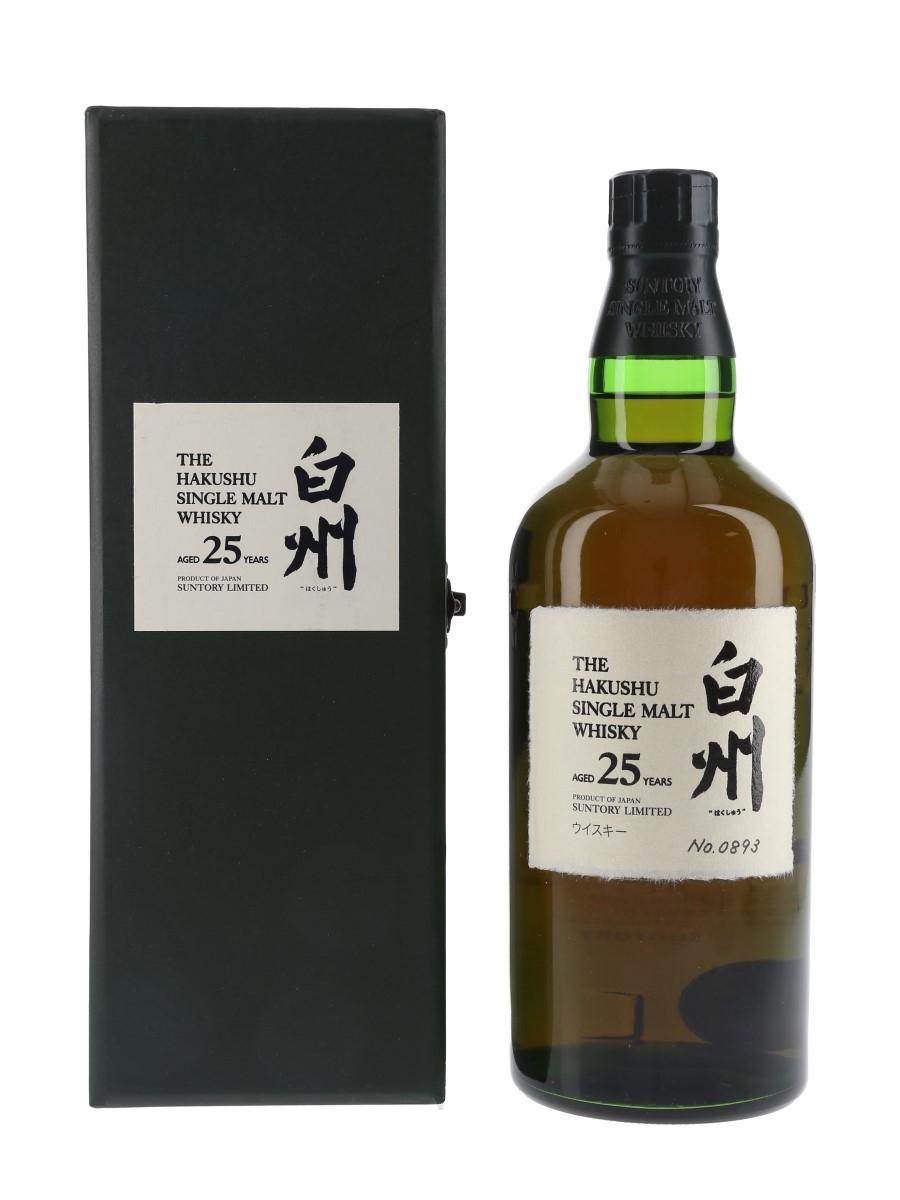 Hakushu 25 Year Old  70cl / 43%