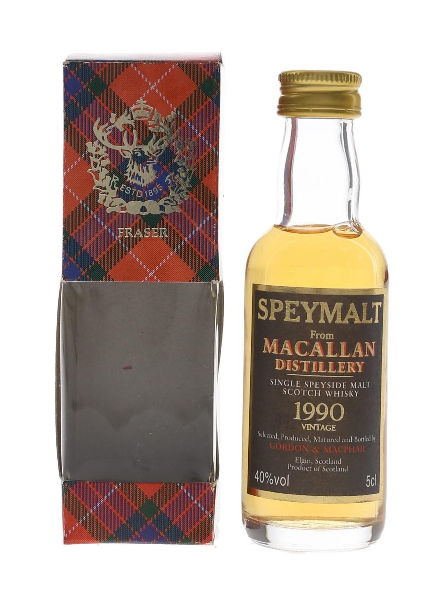 Macallan 1990 Speymalt Bottled 1990s - Gordon & MacPhail 5cl / 40%