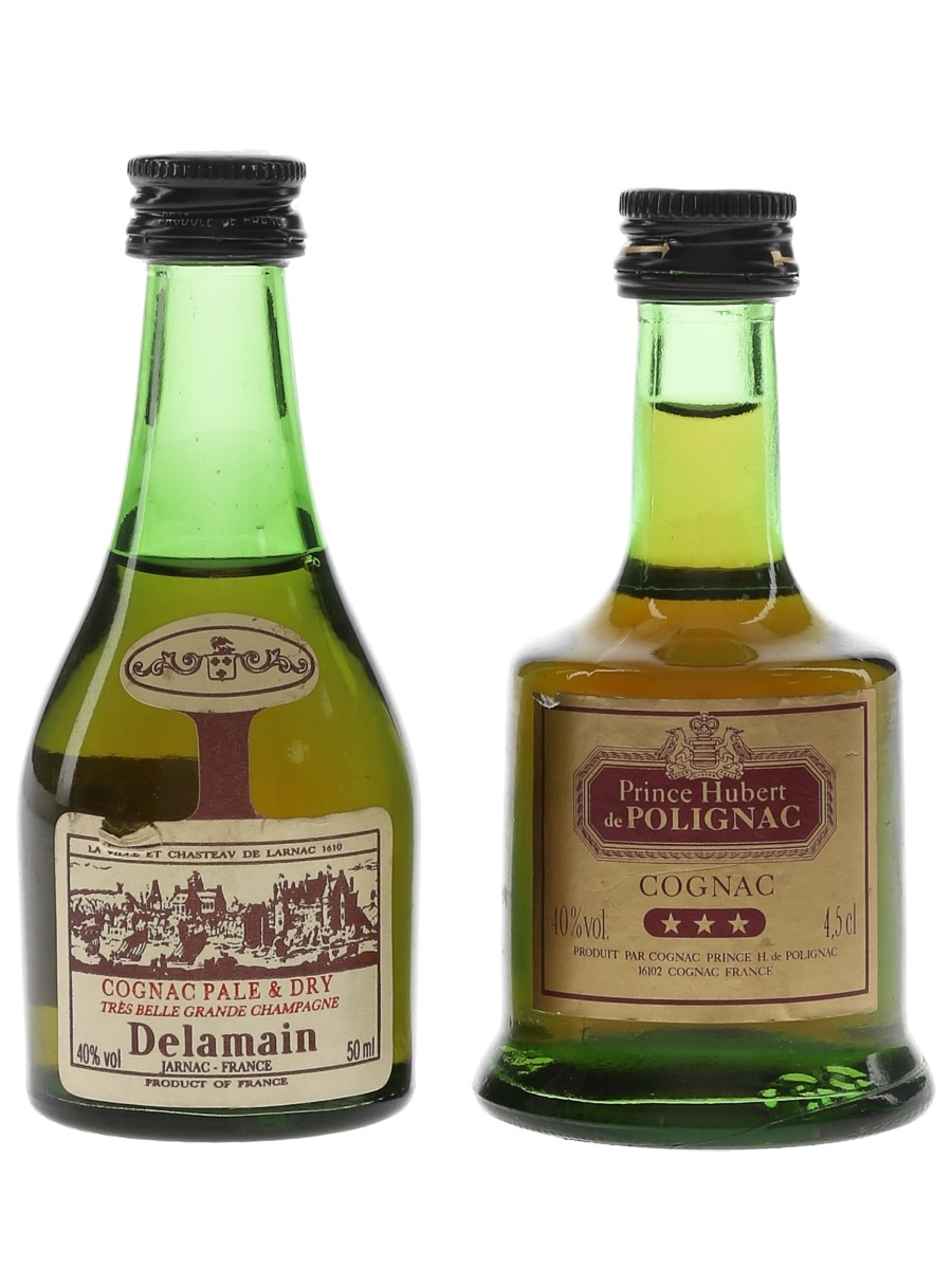 Delamain & Prince Hubert De Polignac  4.5cl & 5cl / 40%