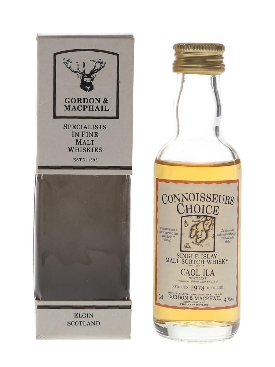 Caol Ila 1978 Connoisseurs Choice Bottled 1990s - Gordon & MacPhail 5cl / 40%