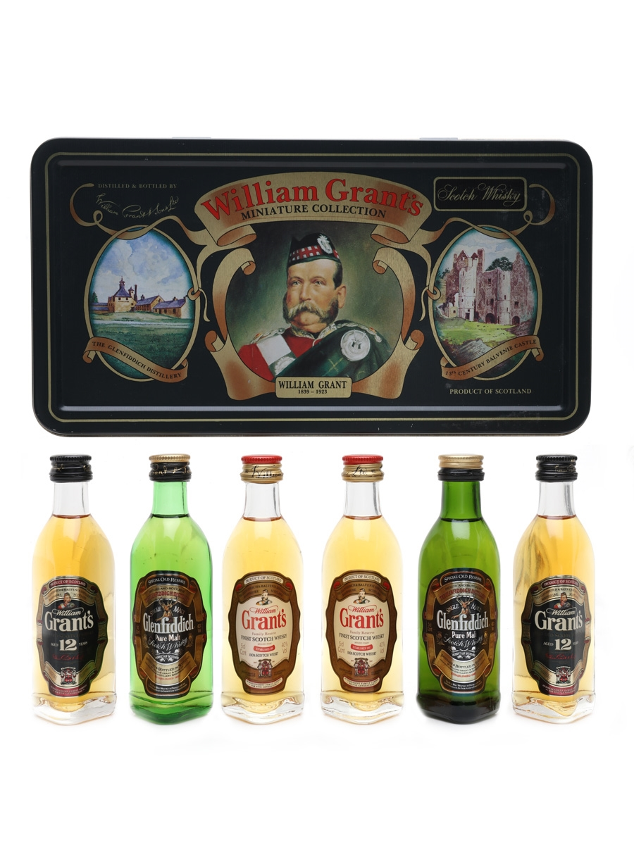 William Grant's Miniature Collection Glenfiddich & Grant's 6 x 5cl / 40%