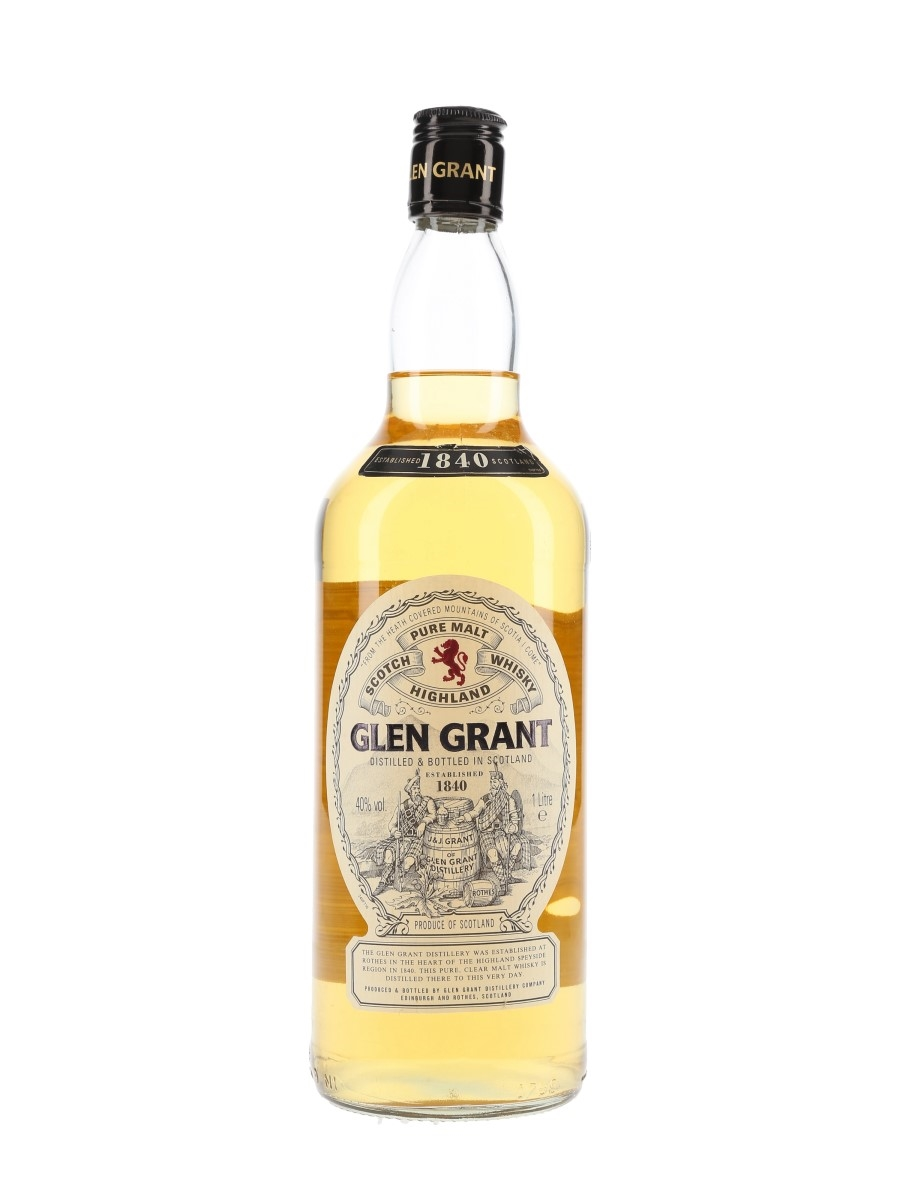Glen Grant Bottled 1990s 100cl / 40%