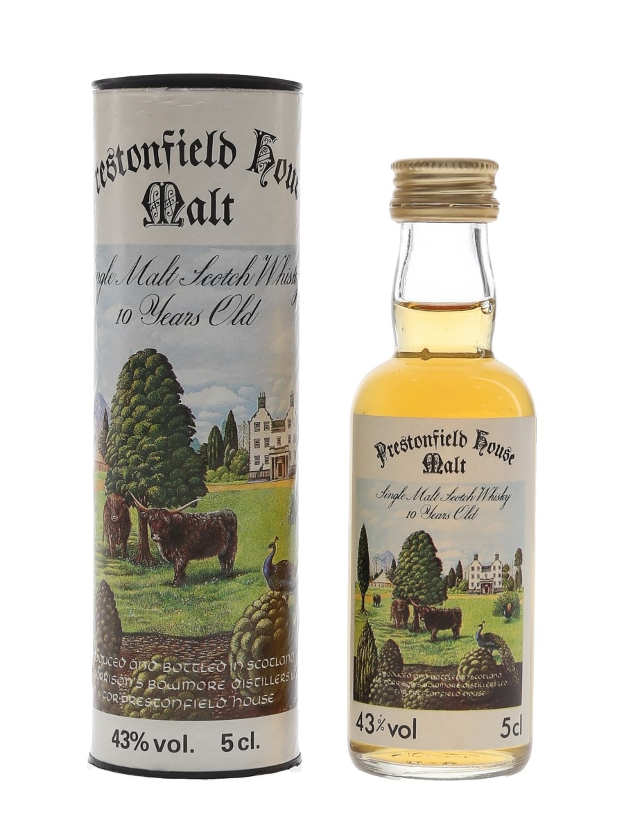 Prestonfield House 10 Year Old Morrison Bowmore Distillers 5cl / 43%