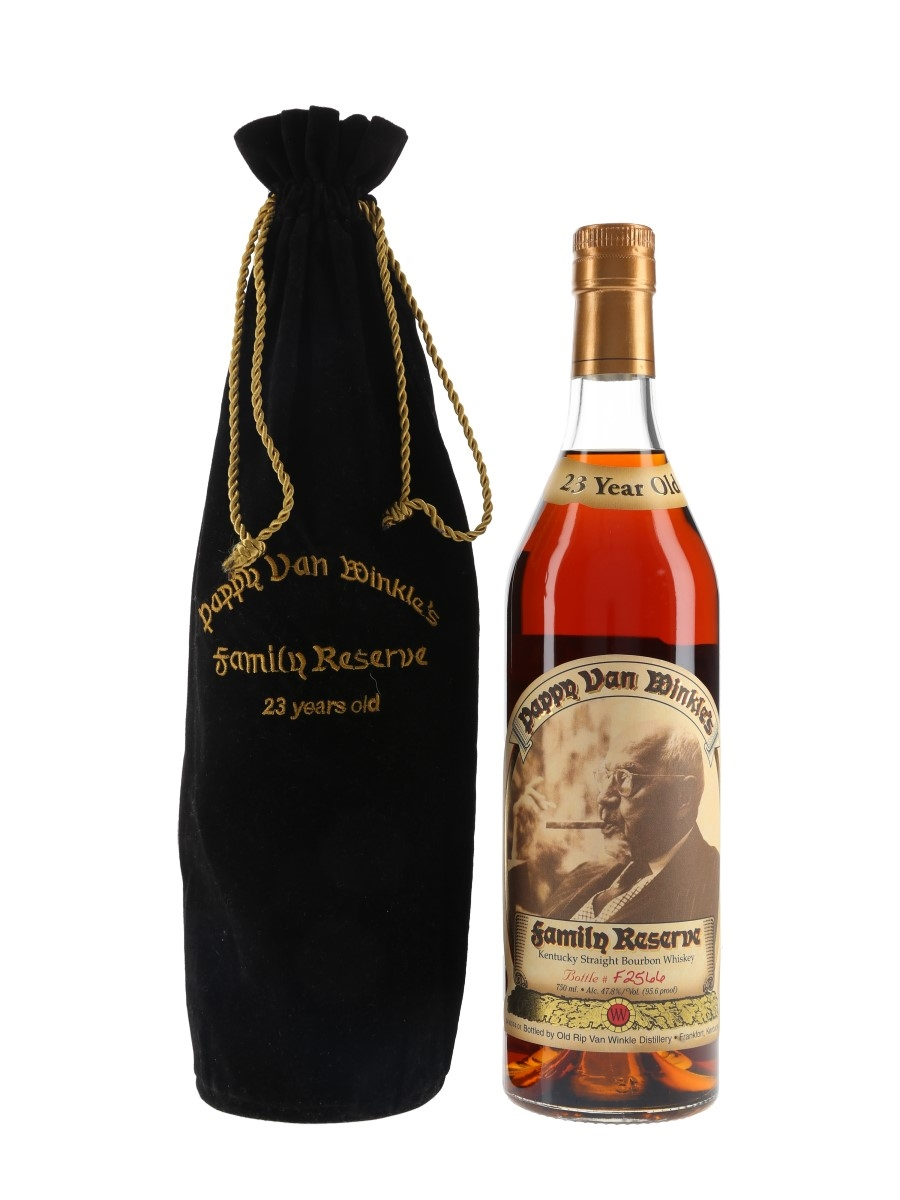 Pappy Van Winkle's 23 Year Old Family Reserve Bottled 2014 75cl / 47.8%