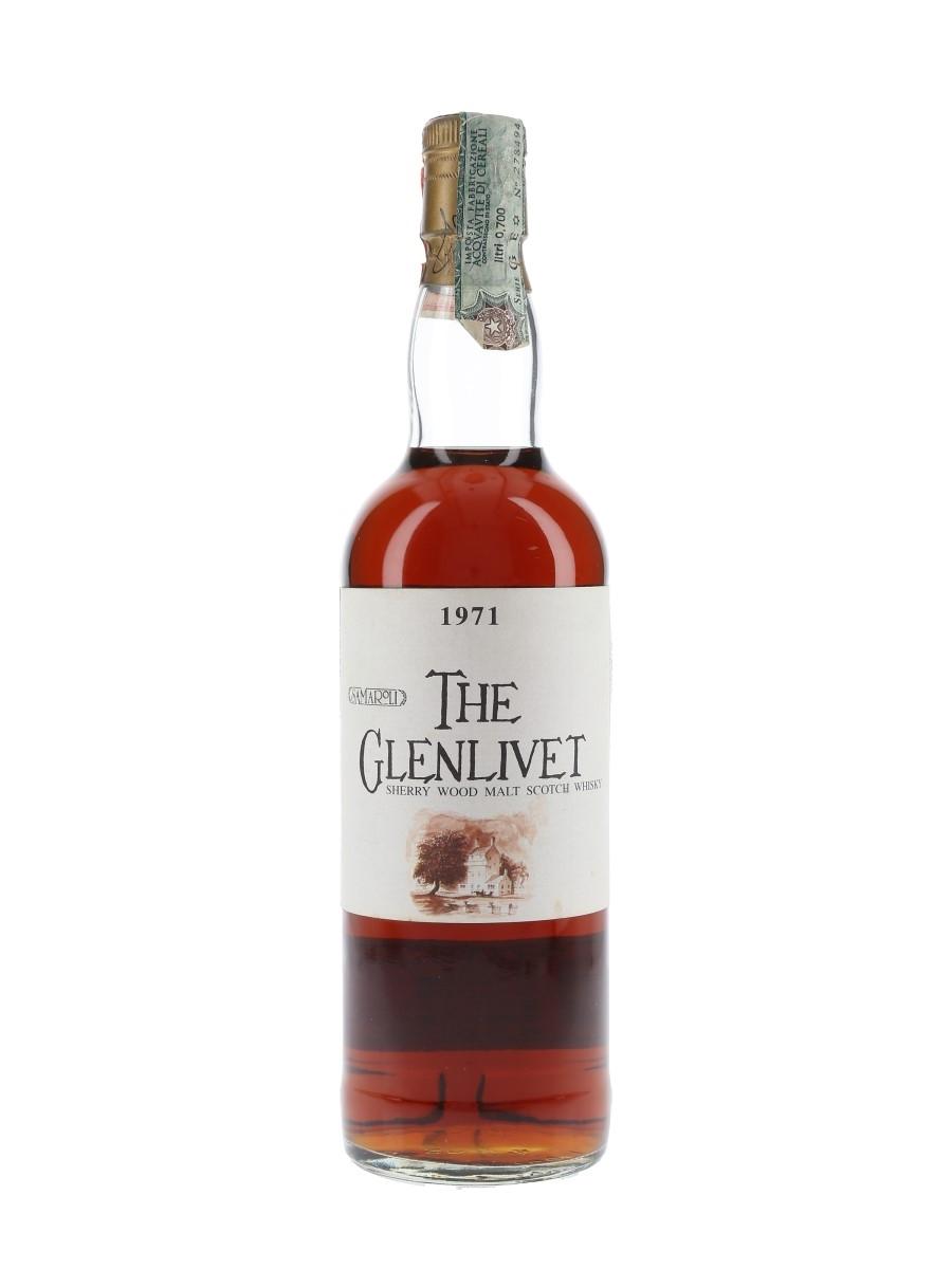 Glenlivet 1971 Sherry Wood Cask 10214 Bottled 1993 - Samaroli 70cl / 46%