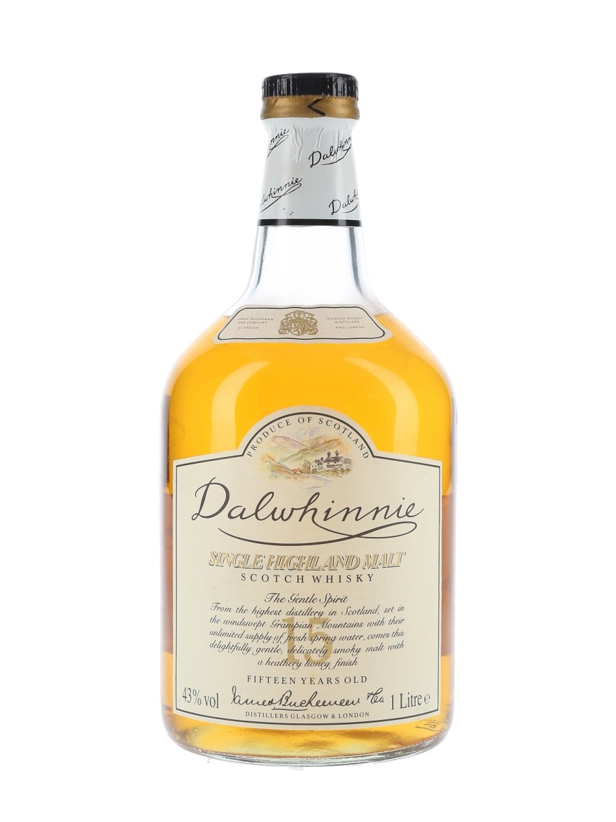 Dalwhinnie 15 Year Old Bottled 1990s 100cl / 43%