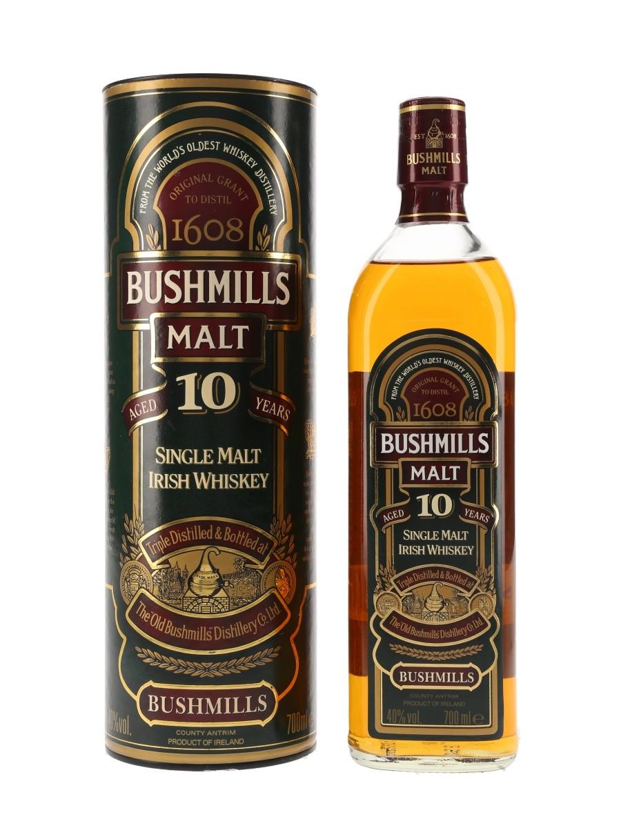 Bushmills 10 Year Old Bottled 1990s 70cl / 40%