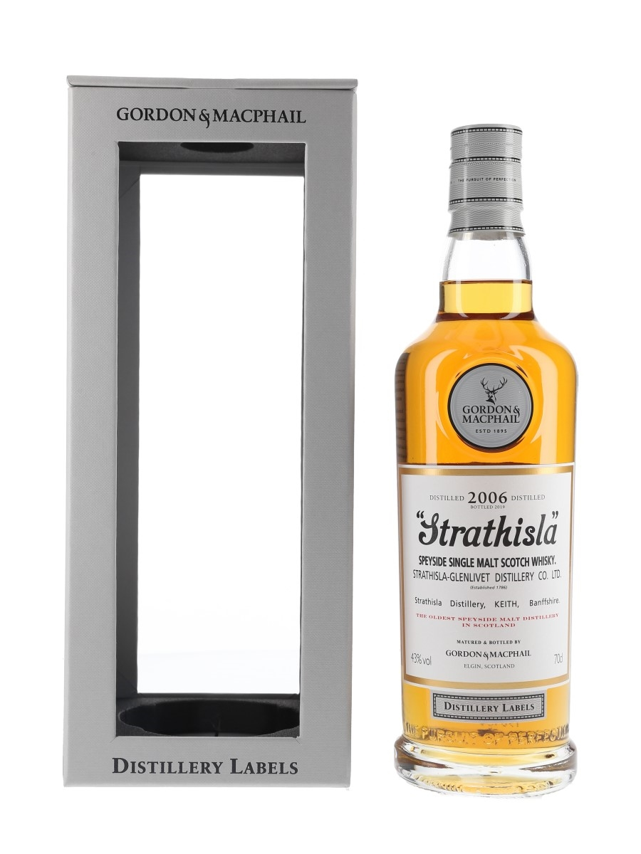 Strathisla 2006 Distillery Labels Bottled 2019 - Gordon & MacPhail 70cl / 43%