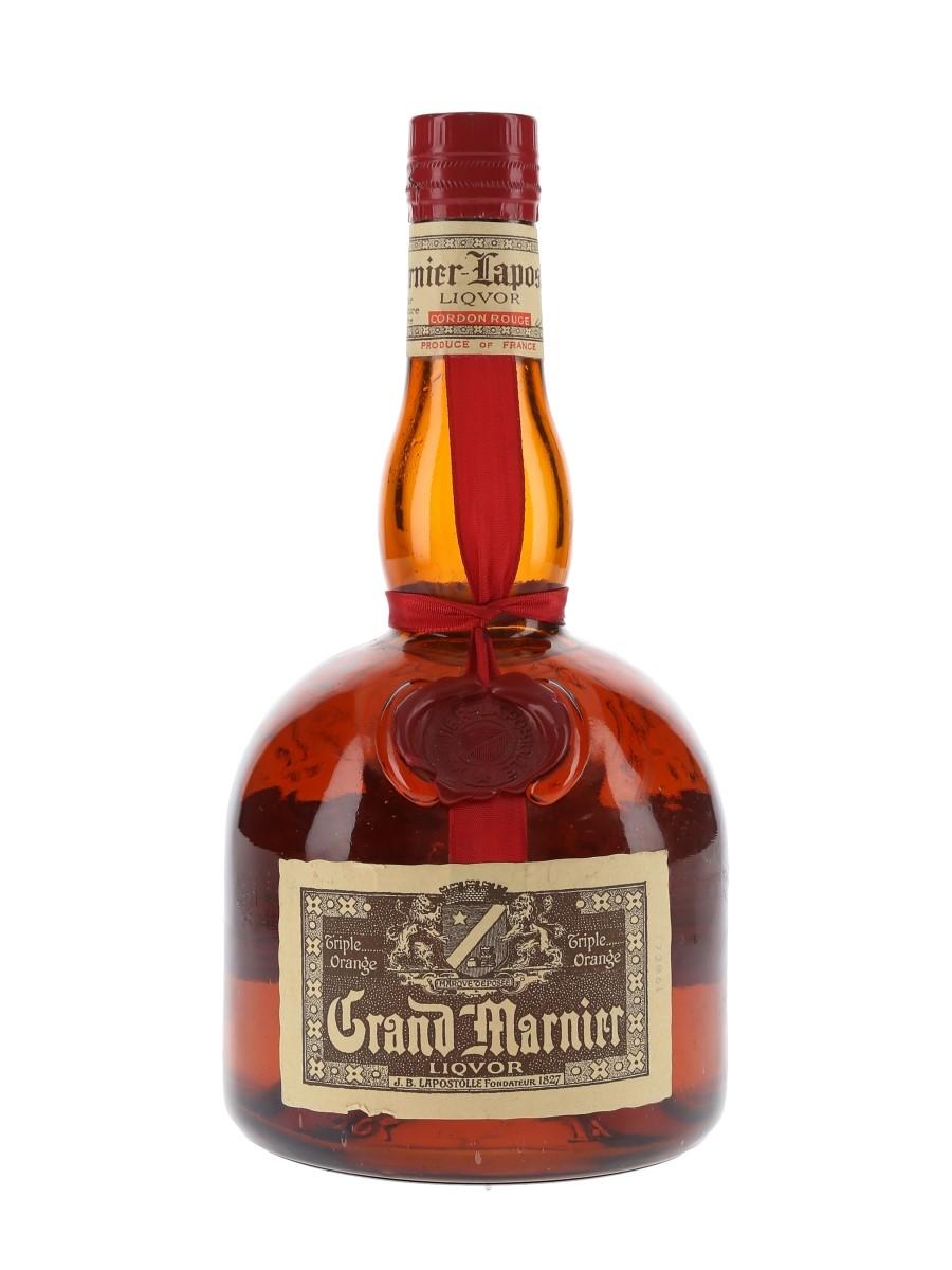 Grand Marnier Cordon Rouge Bottled 1970s 70cl