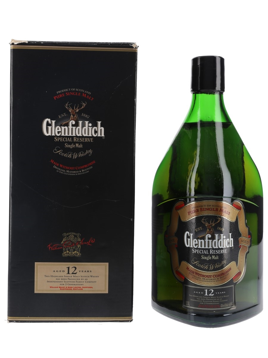 Glenfiddich 12 Year Old Special Reserve Large Format 175cl / 43%