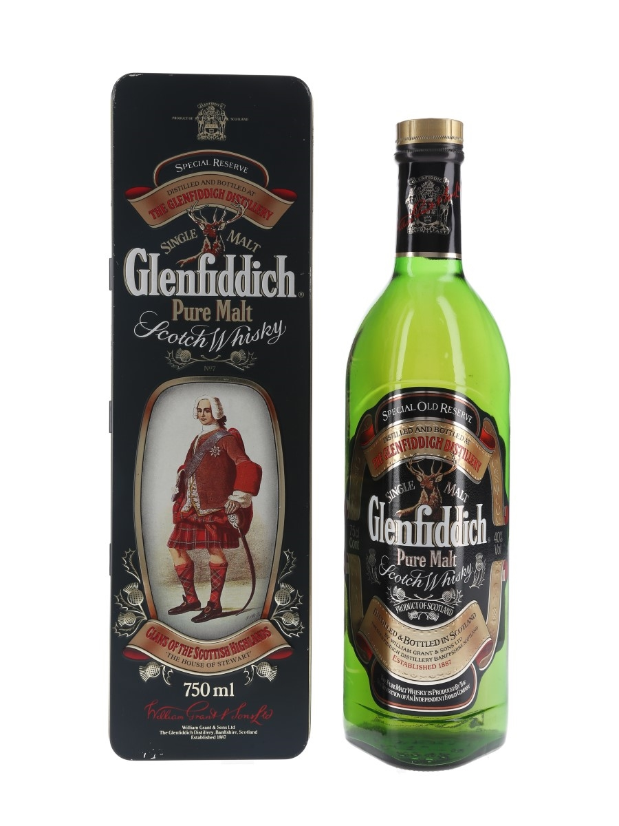 Glenfiddich Special Old Reserve Clans Of The Highlands - Clan Stewart 75cl / 40%