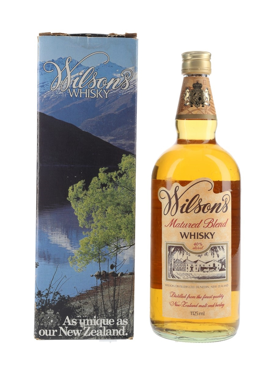 Wilson's Blended Whisky New Zealand - Seagram 112.5cl / 40%
