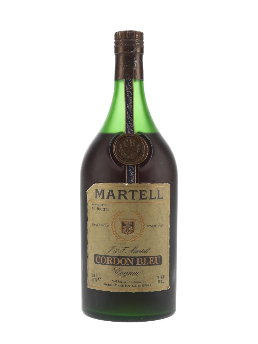 Martell Cordon Bleu Bottled 1970s - Numbered Bottle 100cl / 40%