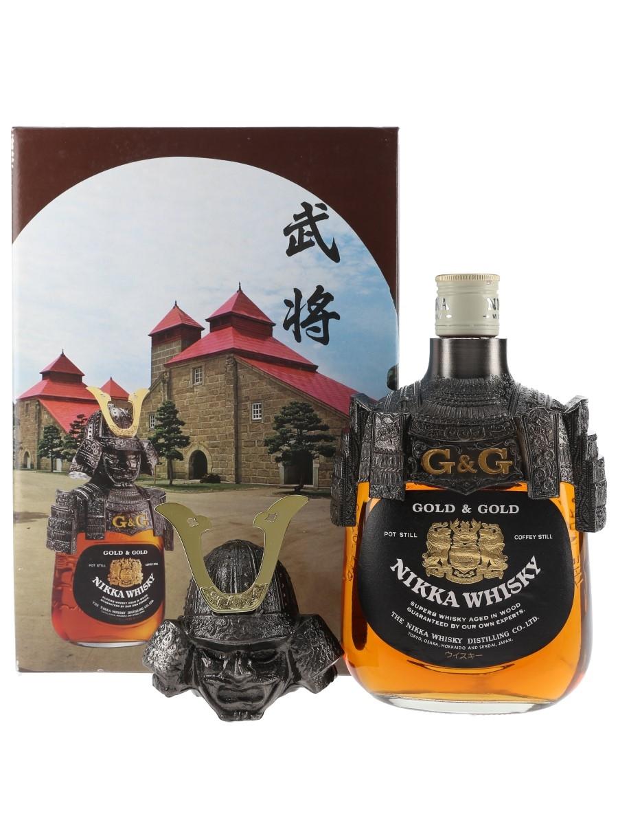 Nikka Gold & Gold Samurai  75cl / 43%