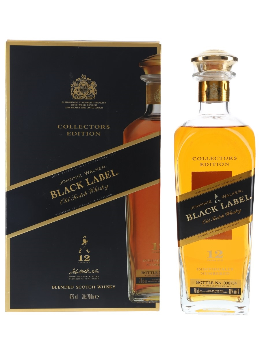Johnnie Walker Black Label 12 Year Old Collectors Edition 70cl / 40%