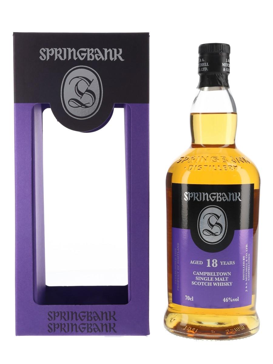 Springbank 18 Year Old Bottled 2017 70cl / 46%