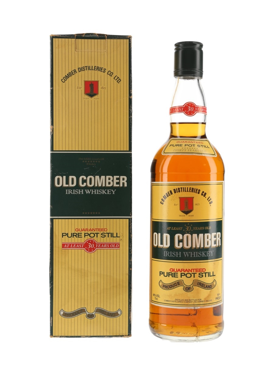 Old Comber 30 Year Old Bottled 1980s 75cl / 40%