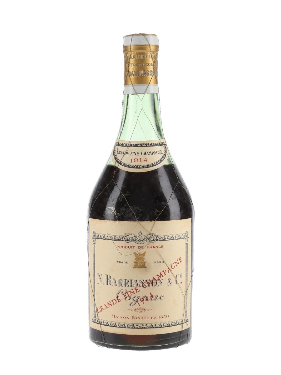 Barriasson & Co. 1914 Grande Champagne Cognac  70cl