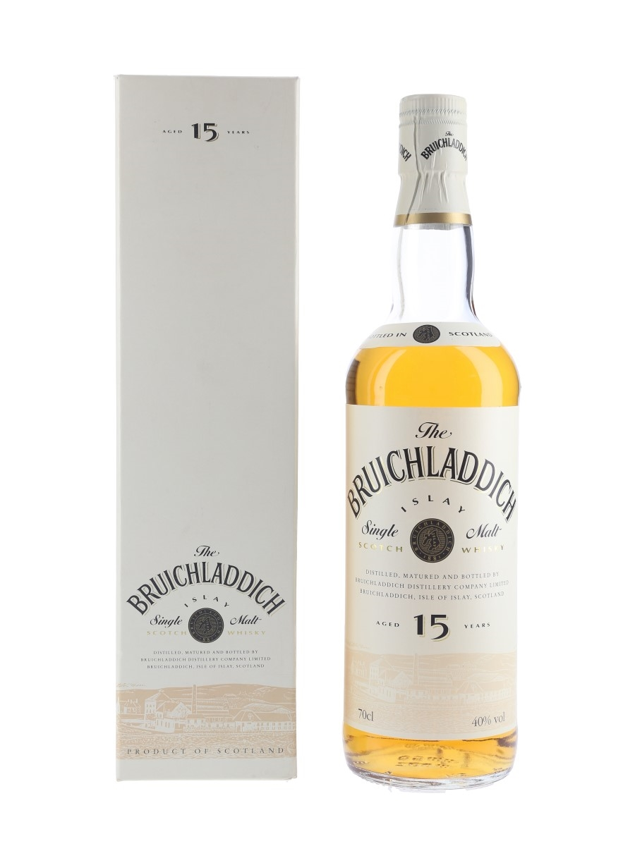 Bruichladdich 15 Year Old Bottled 1990s 70cl / 40%