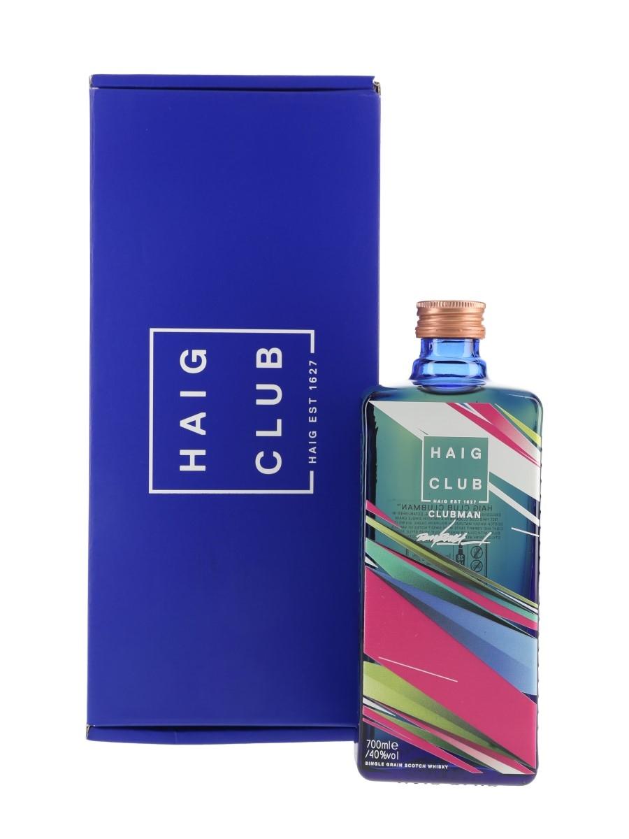 Haig Club Clubman Remi Rough Limited Edition Design 70cl / 40%