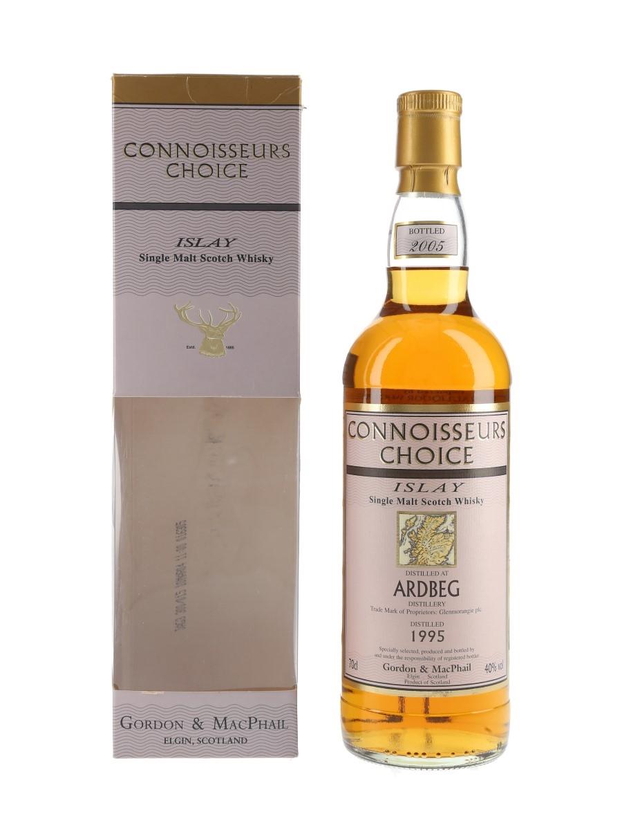 Ardbeg 1995 Connoisseurs Choice Bottled 2005 - Gordon & MacPhail 70cl / 40%