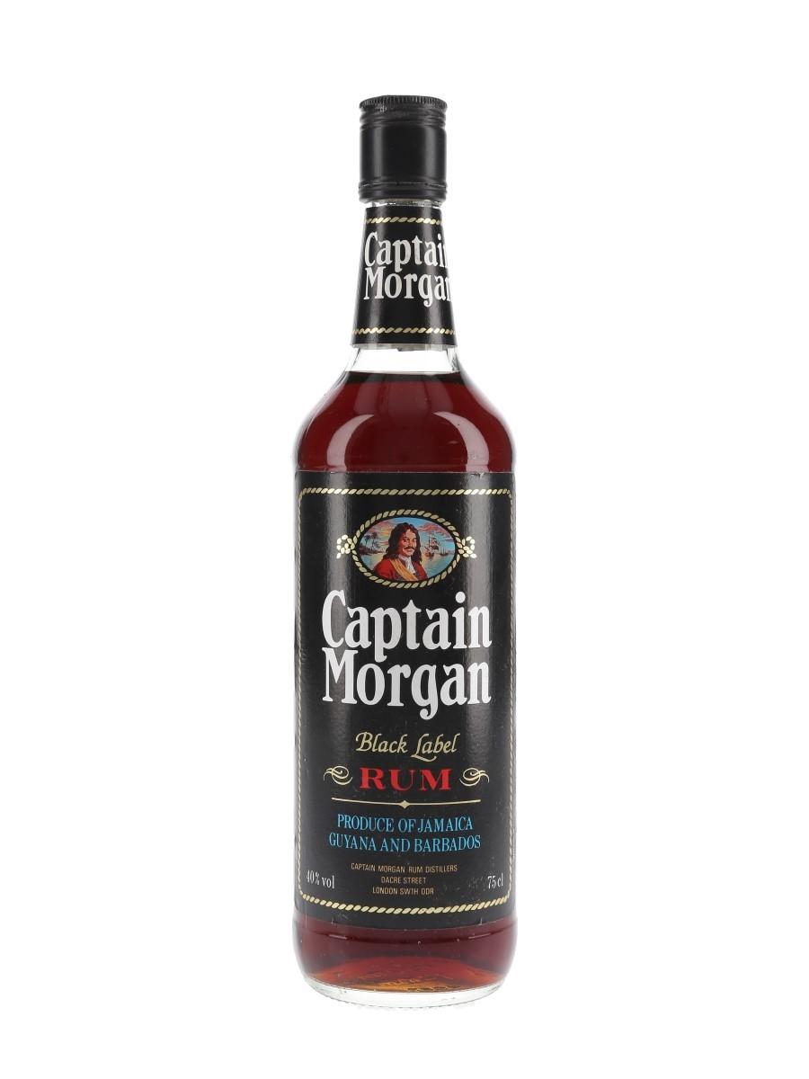 Captain Morgan Black Label Bottled 1980s 75cl / 40%