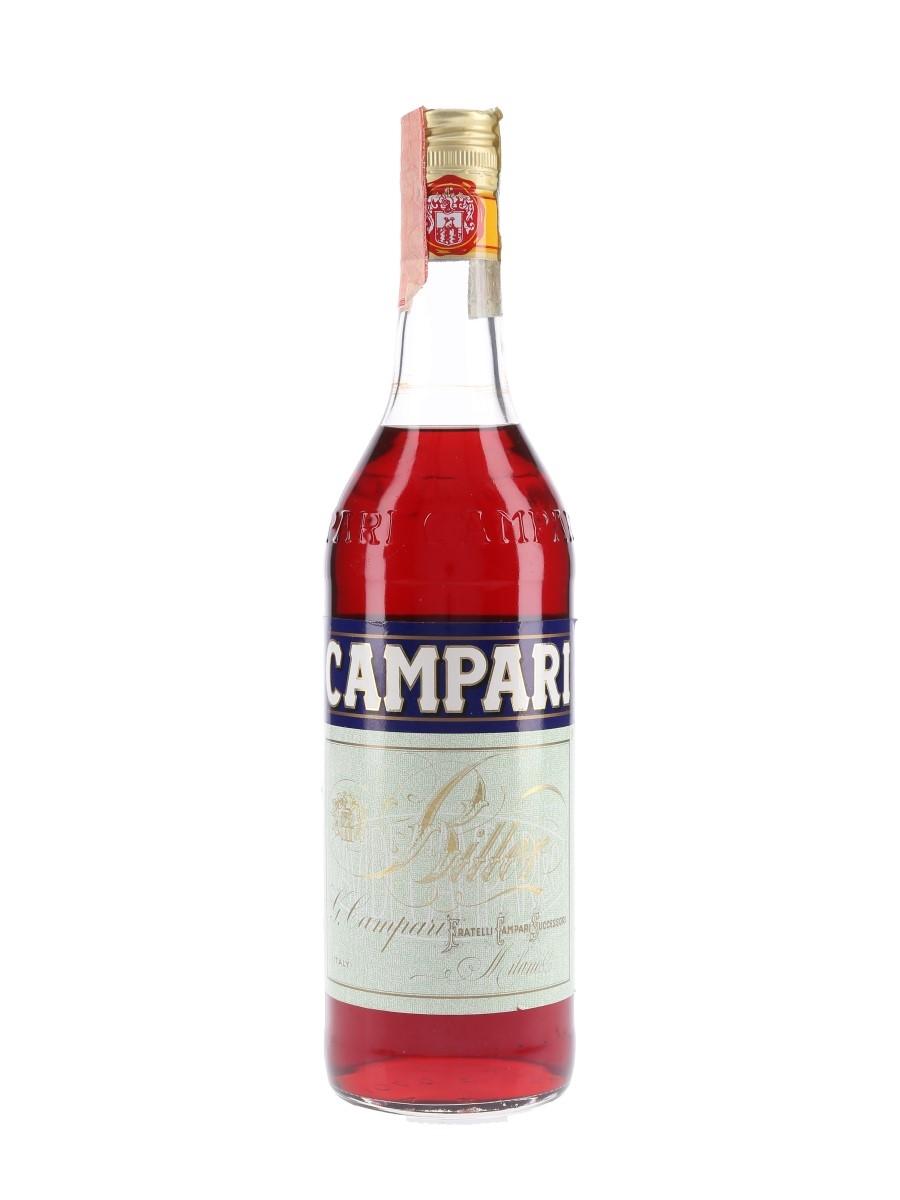 Campari Bitter Bottled 1990s 70cl / 25%