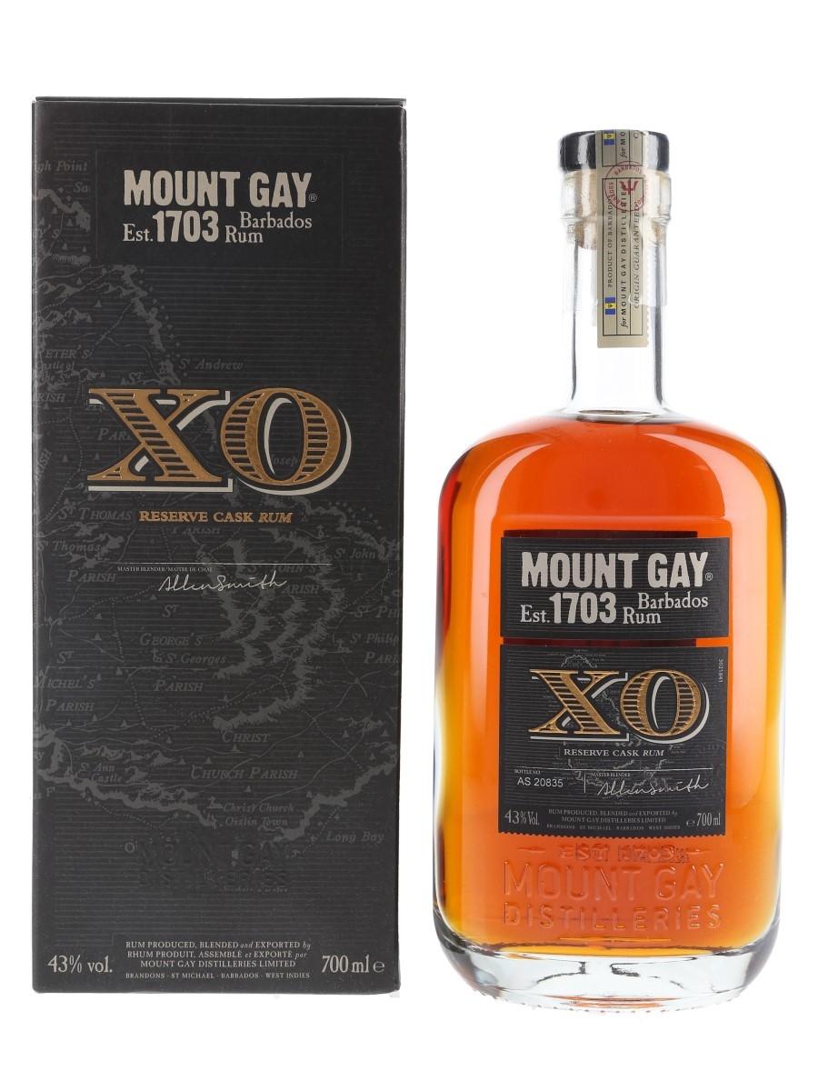 Mount Gay XO Reserve Cask Barbados Rum 70cl / 43%
