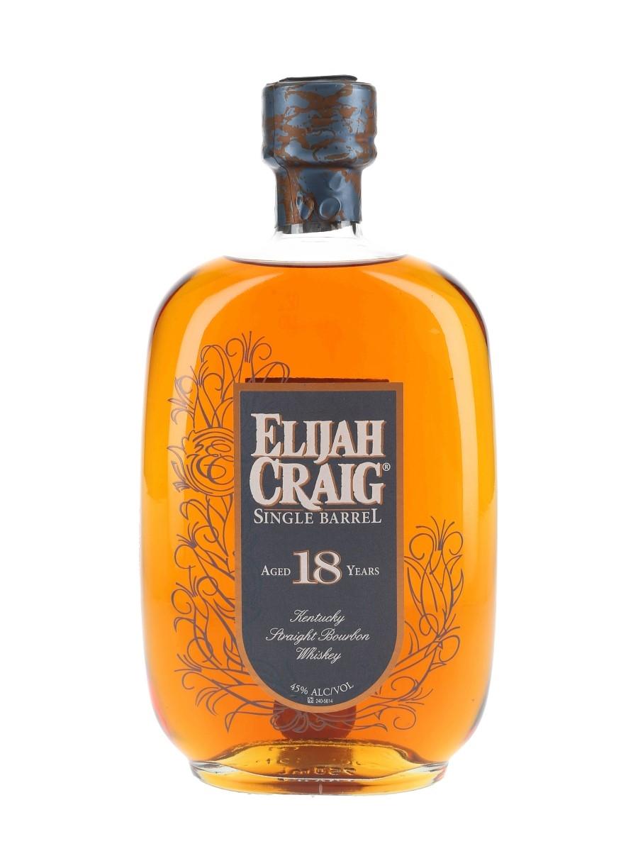 Elijah Craig 1997 18 Year Old Bottled 2000s - Single Barrel 75cl / 45%