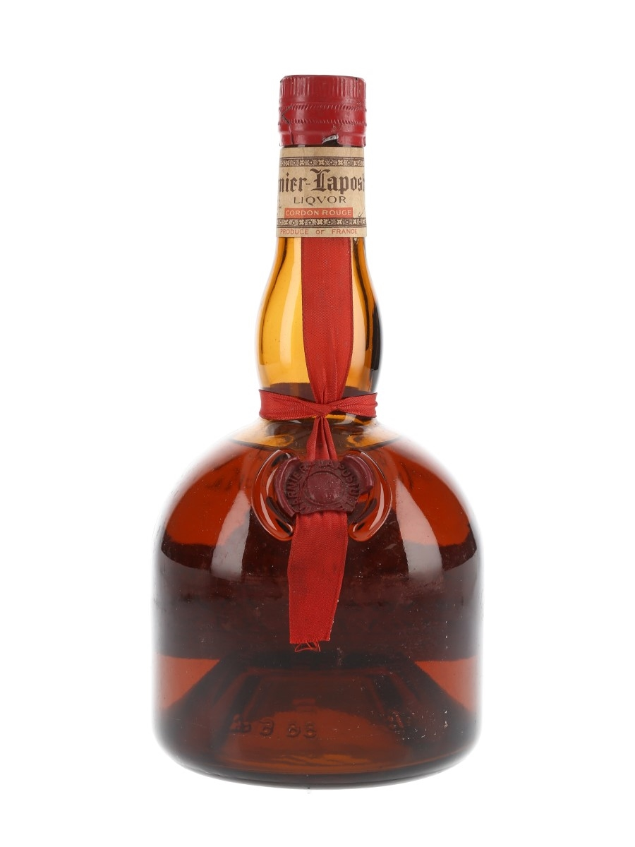 Grand Marnier Cordon Rouge Bottled 1970s 66cl