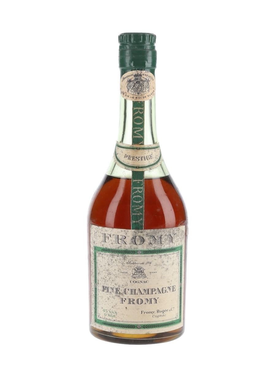 Fromy 45 Year Old Prestige Cognac Bottled 1950s-1960s 37.5cl