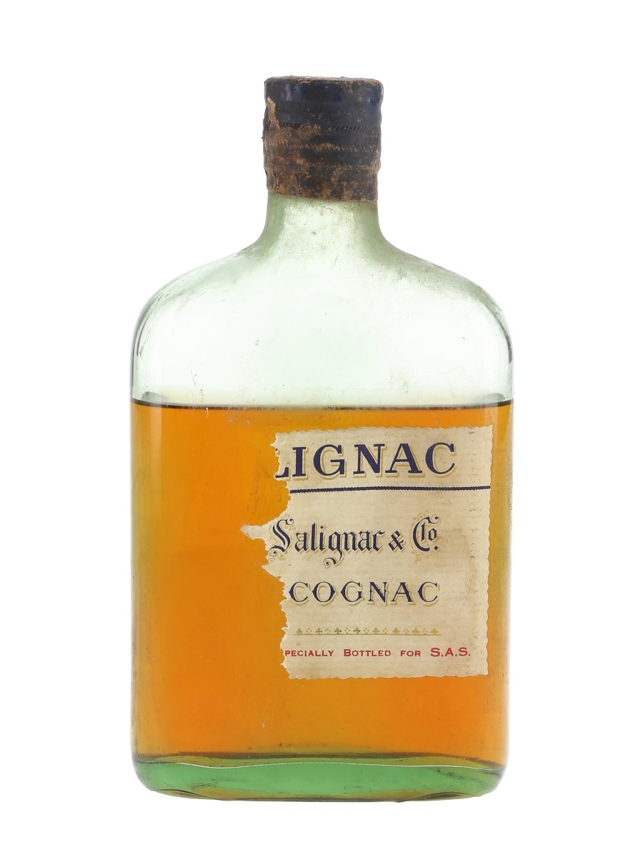 Salignac Cognac Bottled 1961 35cl